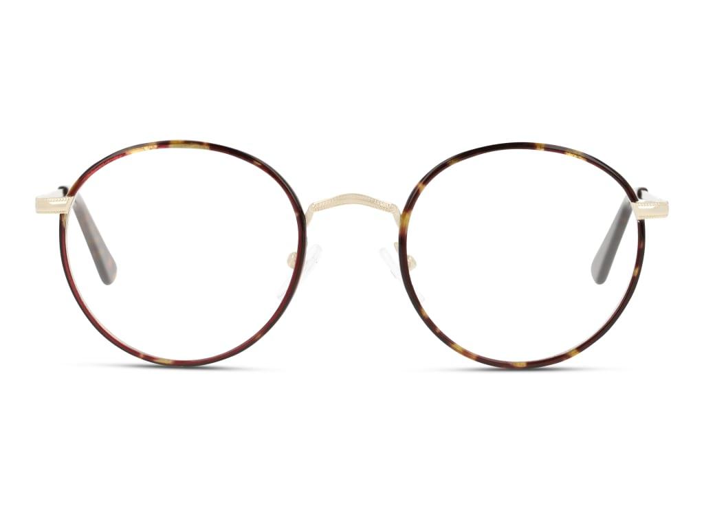 8719154808272-front-brillenfassung-unofficial-unom0212-havana-gold