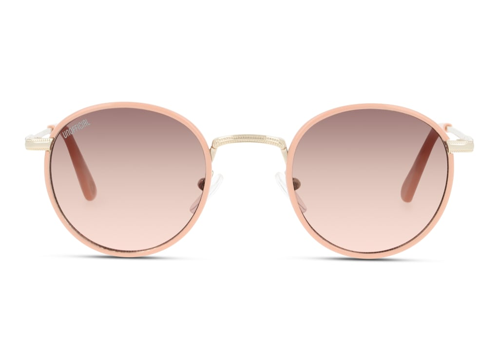 8719154812149-front-sonnenbrille-unofficial-unsf0135-pink-gold