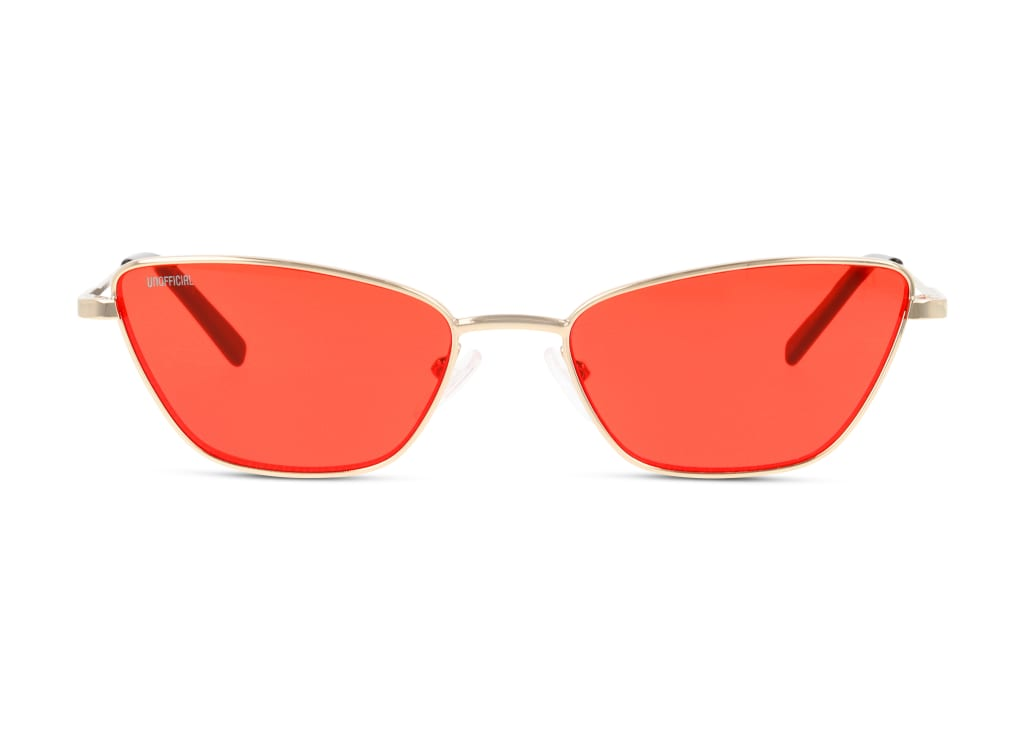 8719154813887-front-sonnenbrille-unofficial-unsf0136-gold-gold