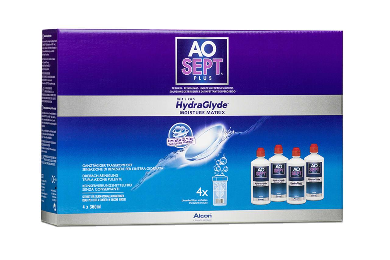 AOSEPT® Plus mit HydraGlyde® 4x360ml