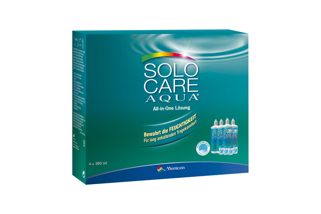 Solocare Aqua®, 4x 360ml 1440 ml
