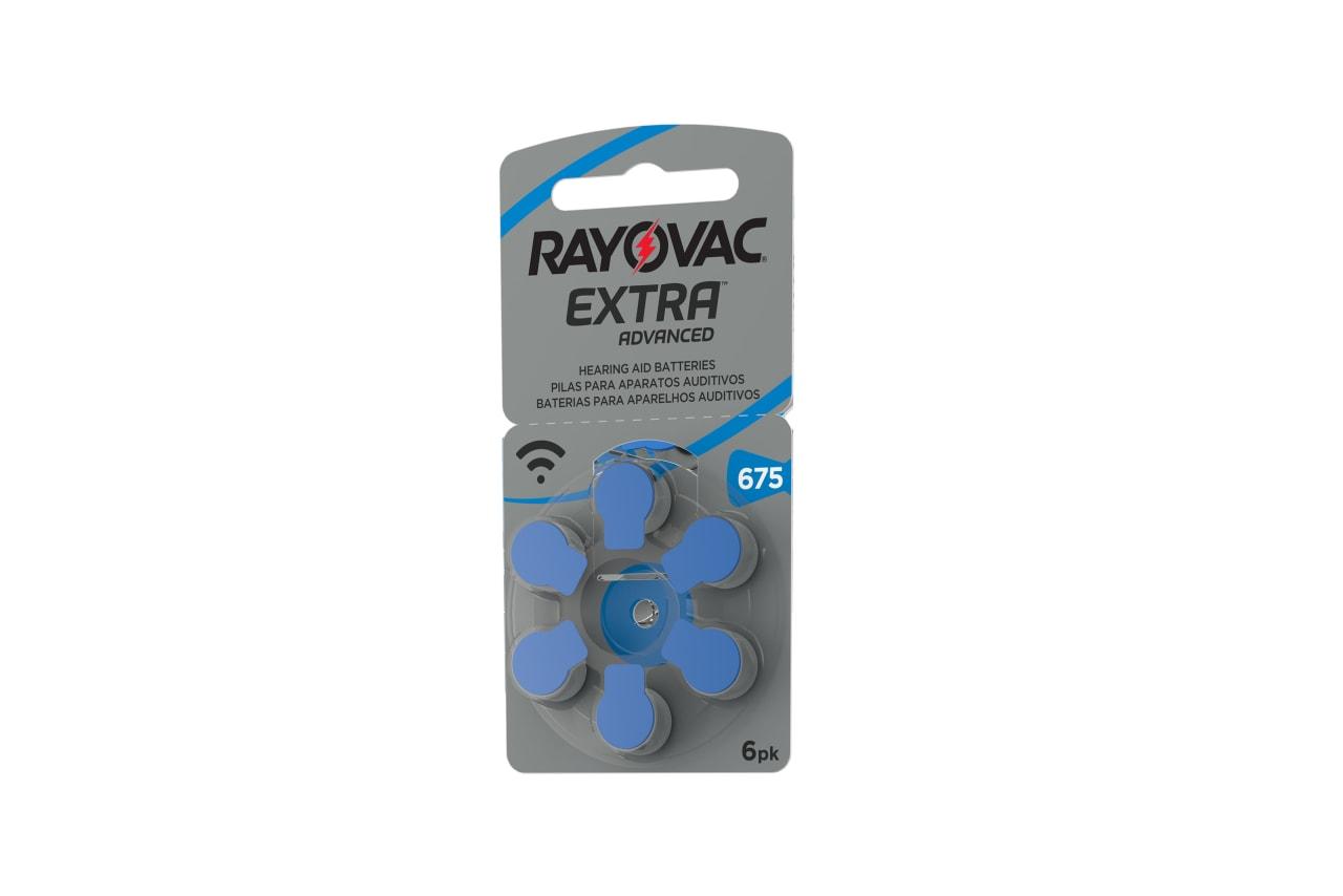 Rayovac Hörgerätebatterien 401218