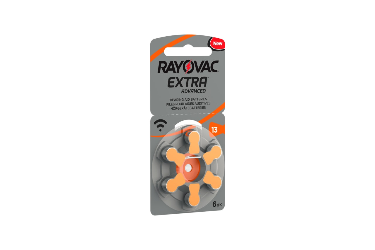 Rayovac Hörgerätebatterien 401219