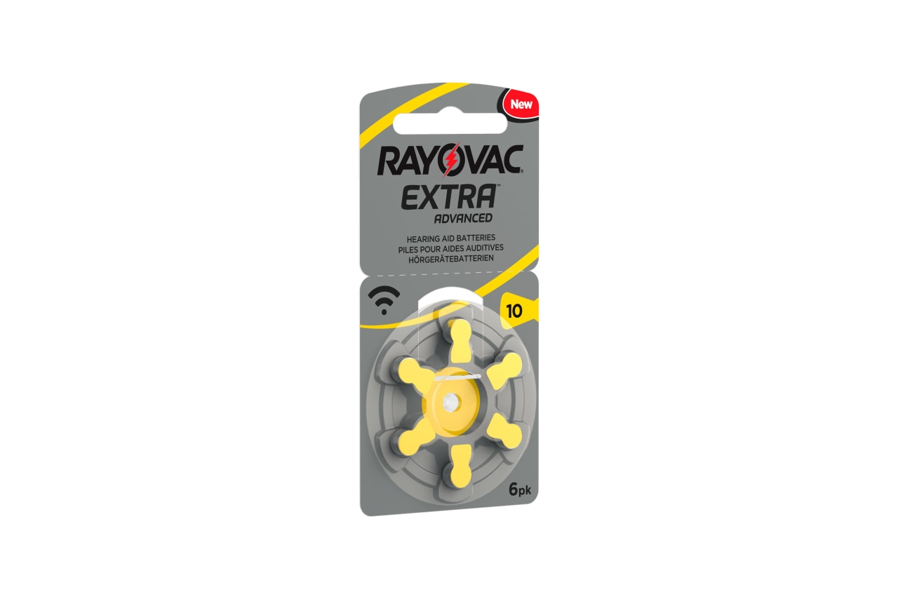 Rayovac Hörgerätebatterien 401221