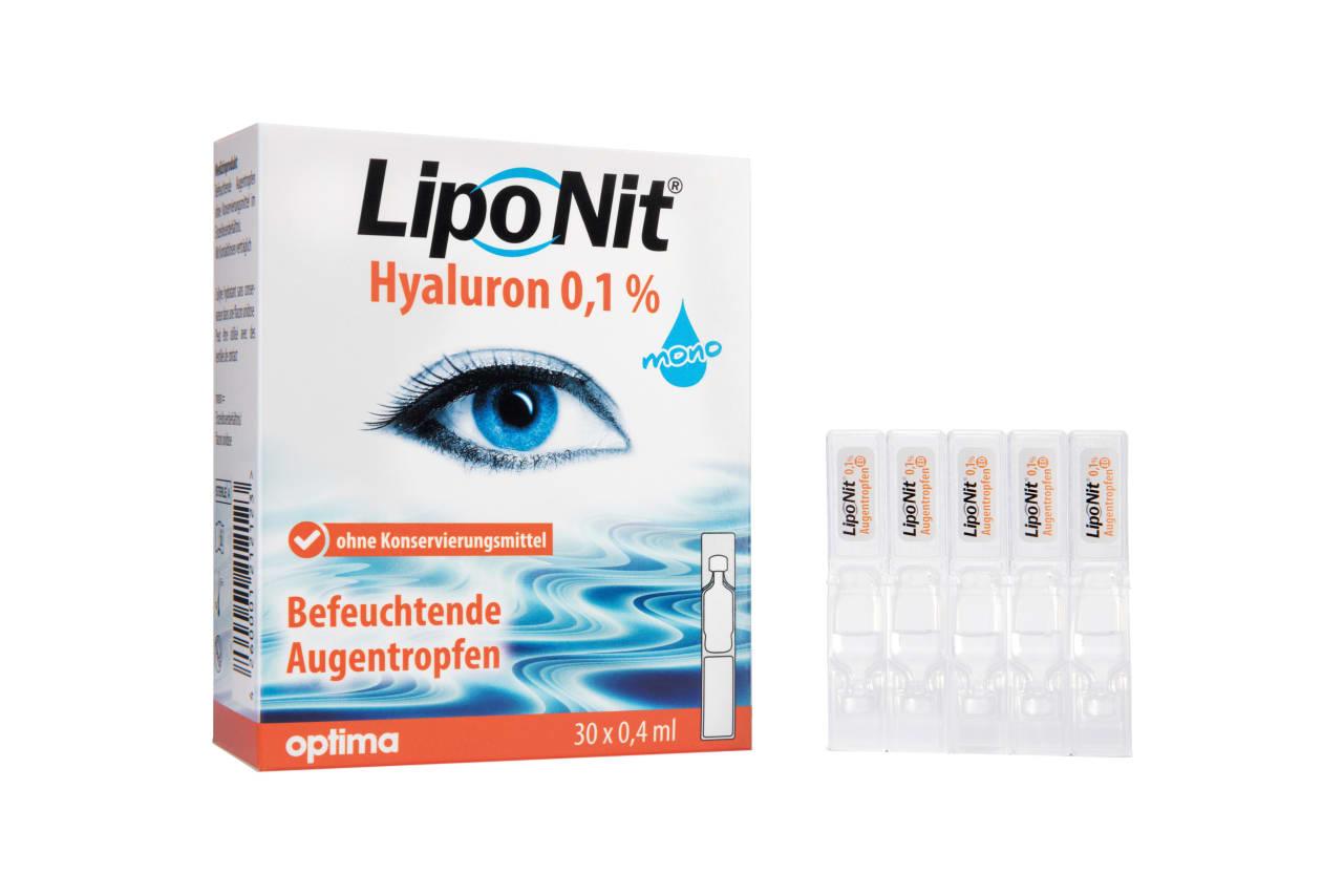 Liponit Augentropfen Mono 30x0,4ml 12 ml