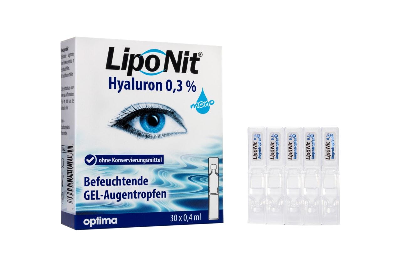 Liponit Augentropfen Gel Mono 30x0,4ml