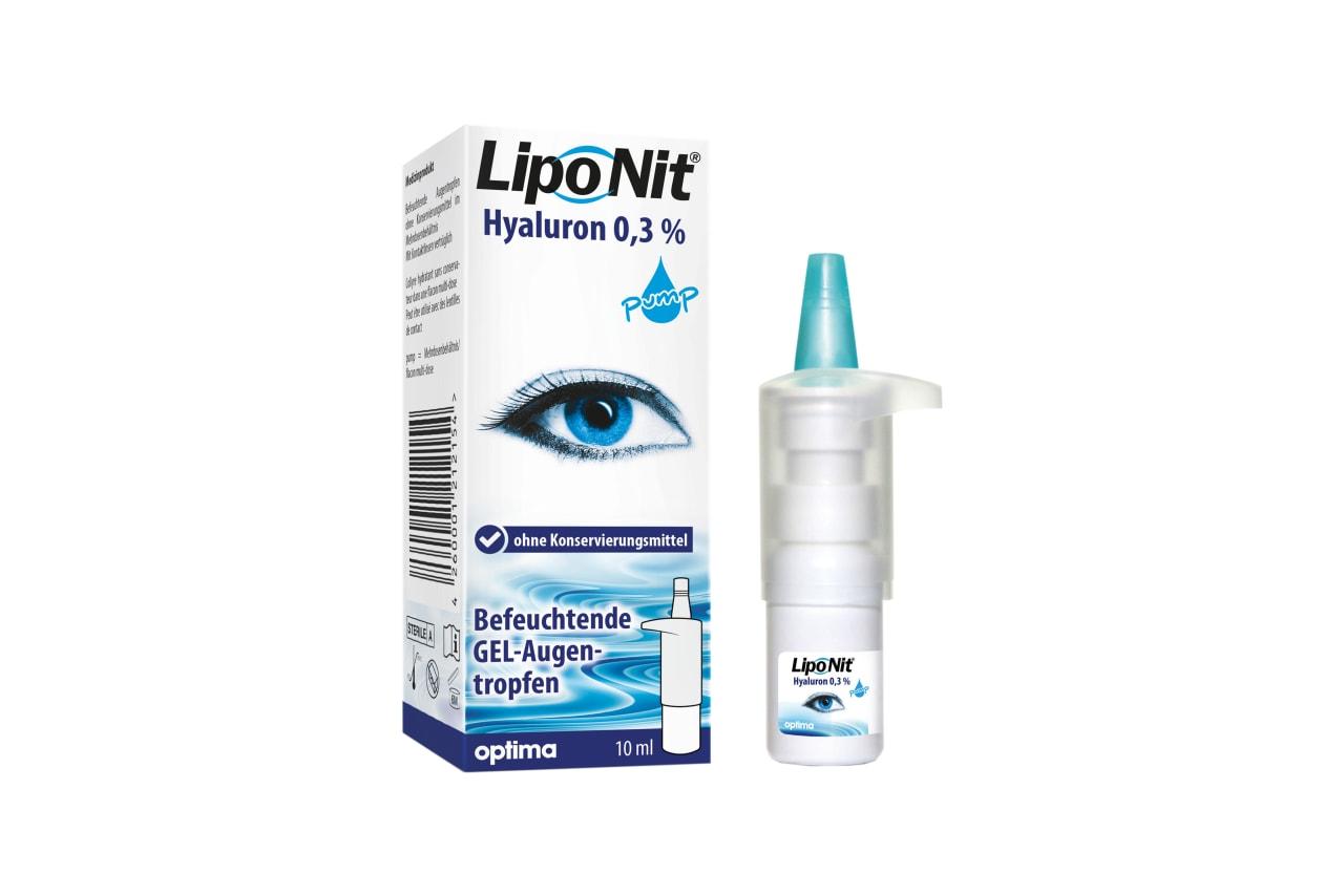 Liponit Augentropfen Gel Pump 10 ml