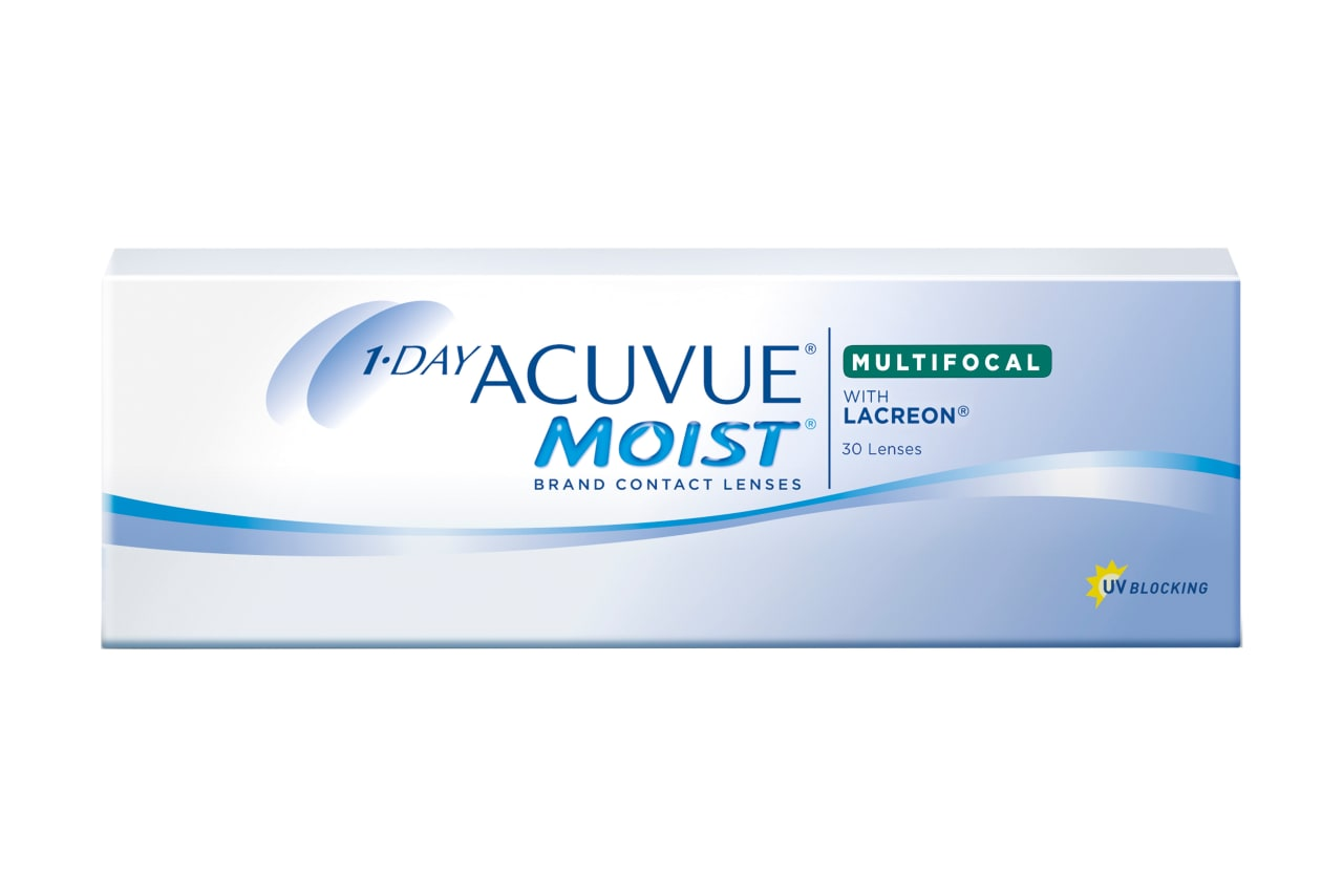 1-DAY ACUVUE® MOIST MULTIFOCAL 30
