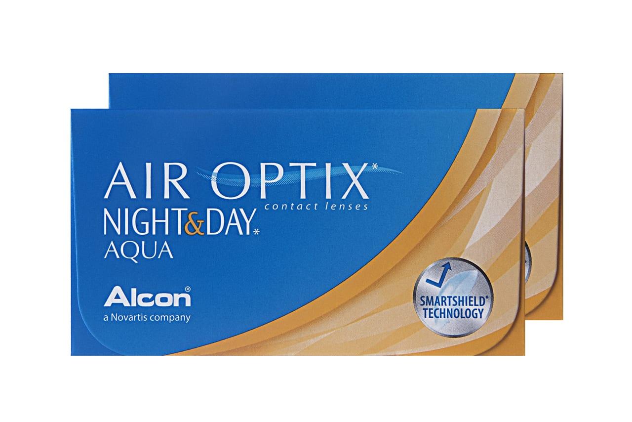 AIR OPTIX® Night & Day Aqua 6 Stück