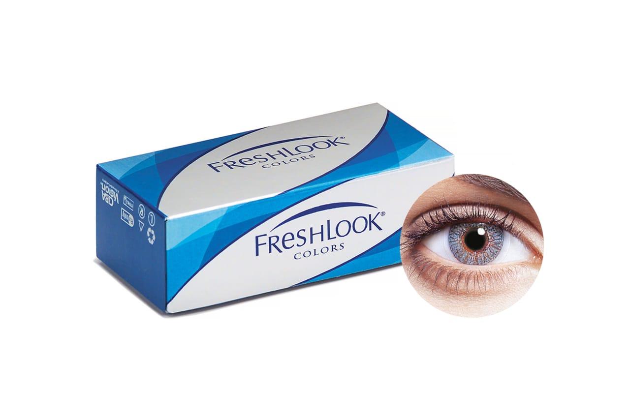 FreshLook® COLORS - Misty Grey 2 Stück