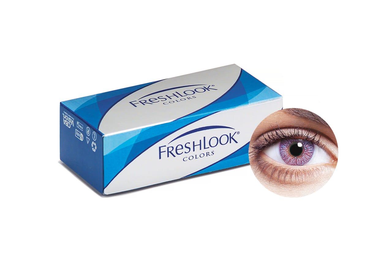FreshLook® COLORS - Violet 2 Stück