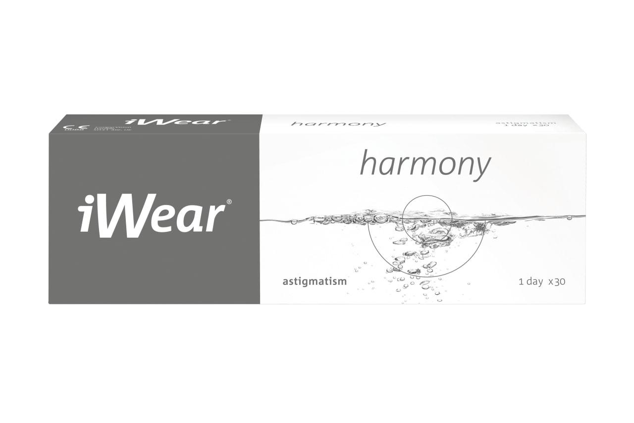 iWear® harmony astigmatism 30 Stück