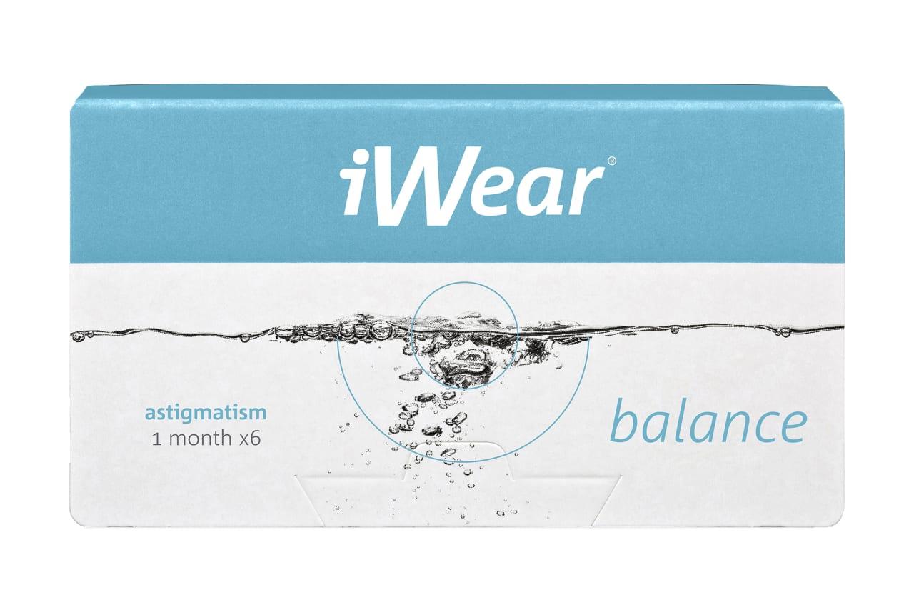 iWear® balance plus astigmatism 6