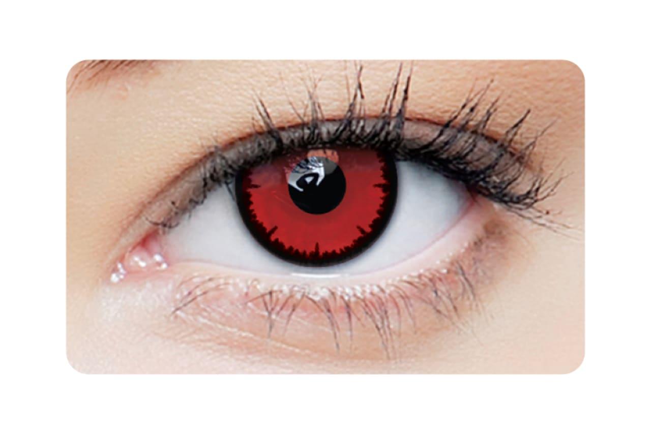 Farbige Kontaktlinsen Angelic Red 2
