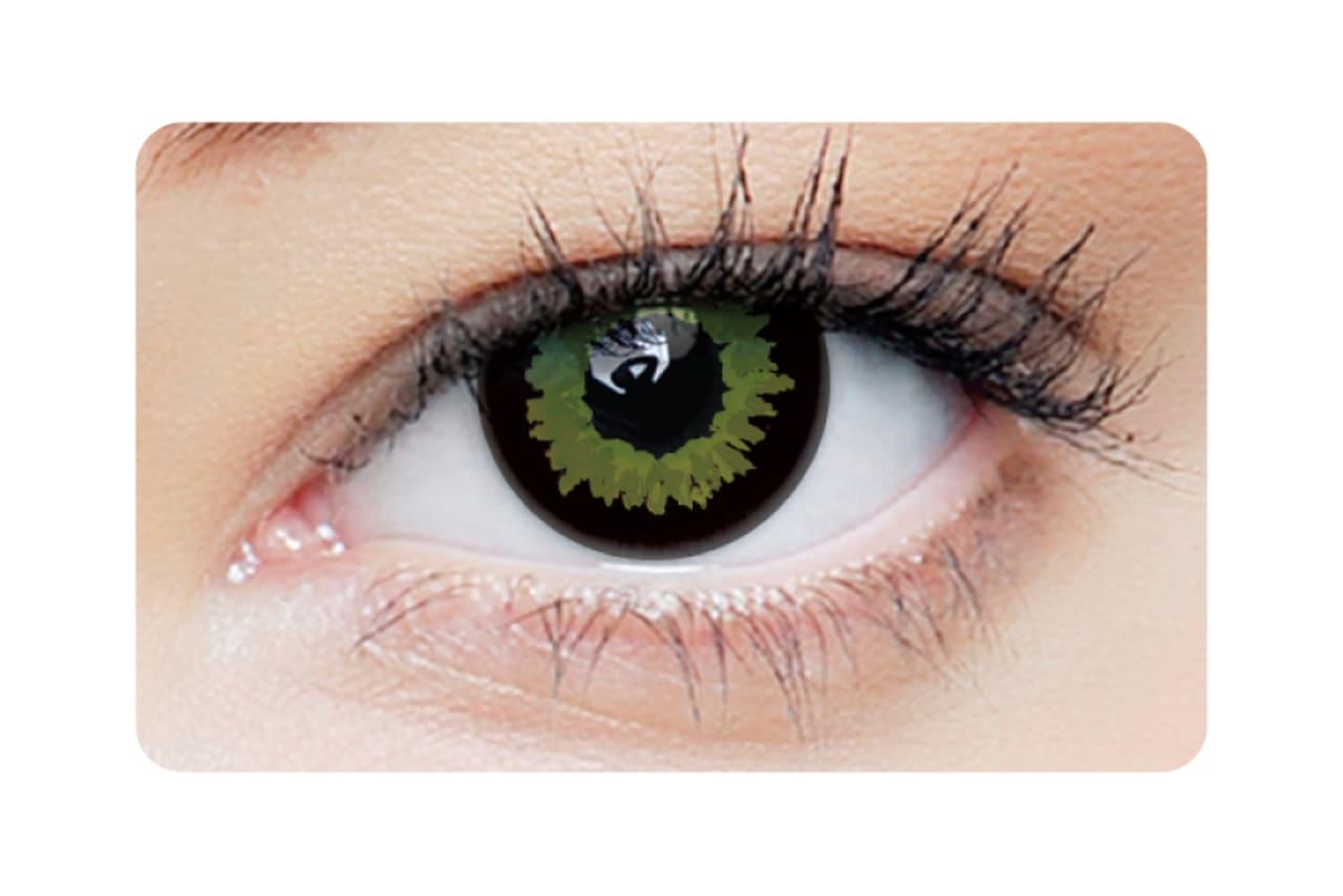 Farbige Kontaktlinsen Black Wolf 2