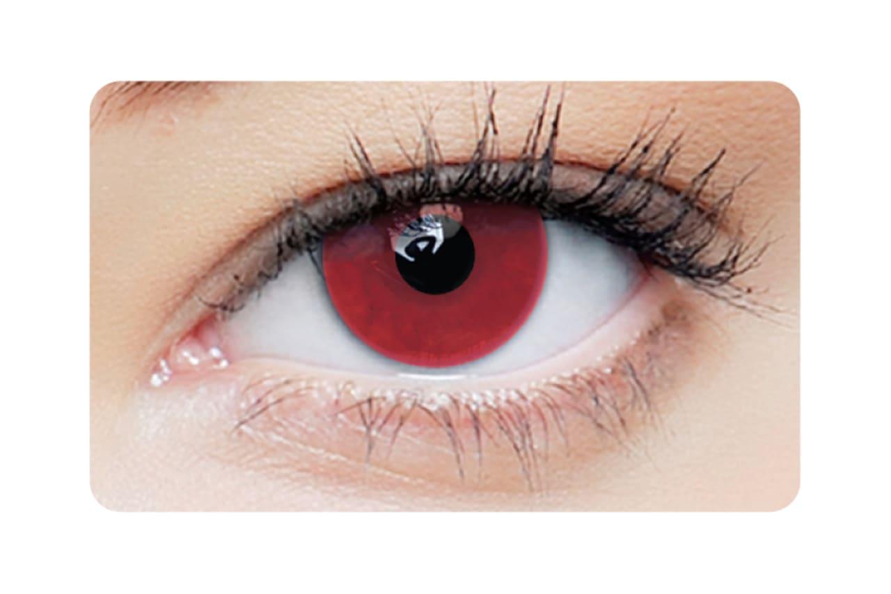 Farbige Kontaktlinsen Red Vampire 2