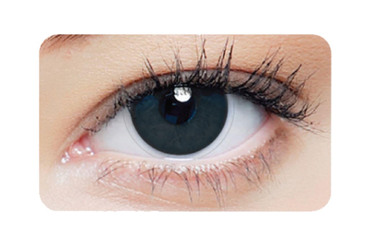 Farbige Kontaktlinsen 1-DAY Black Out 2