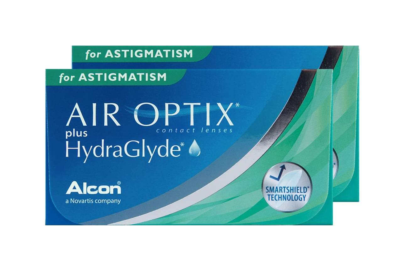 AIR OPTIX® plus HydraGlyde for