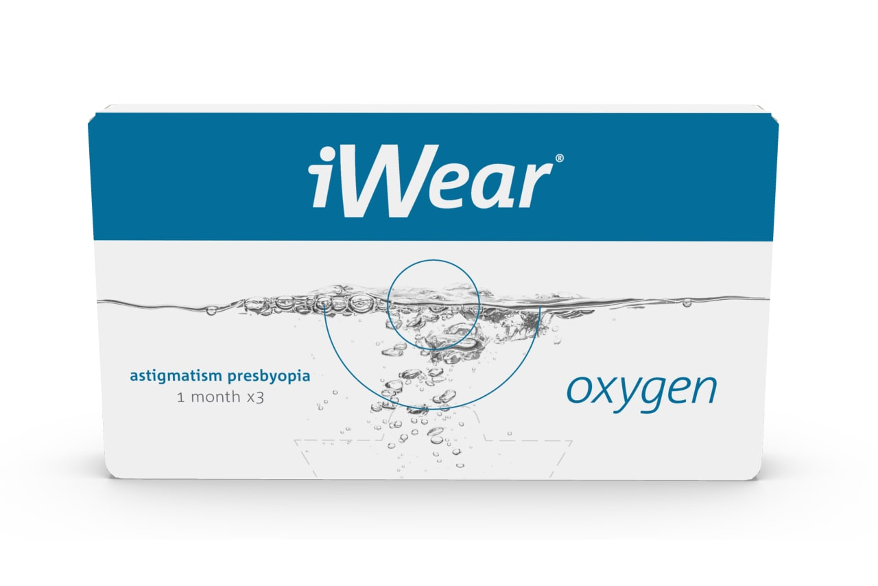 iWear® Oxygen astigmatism presbyopia