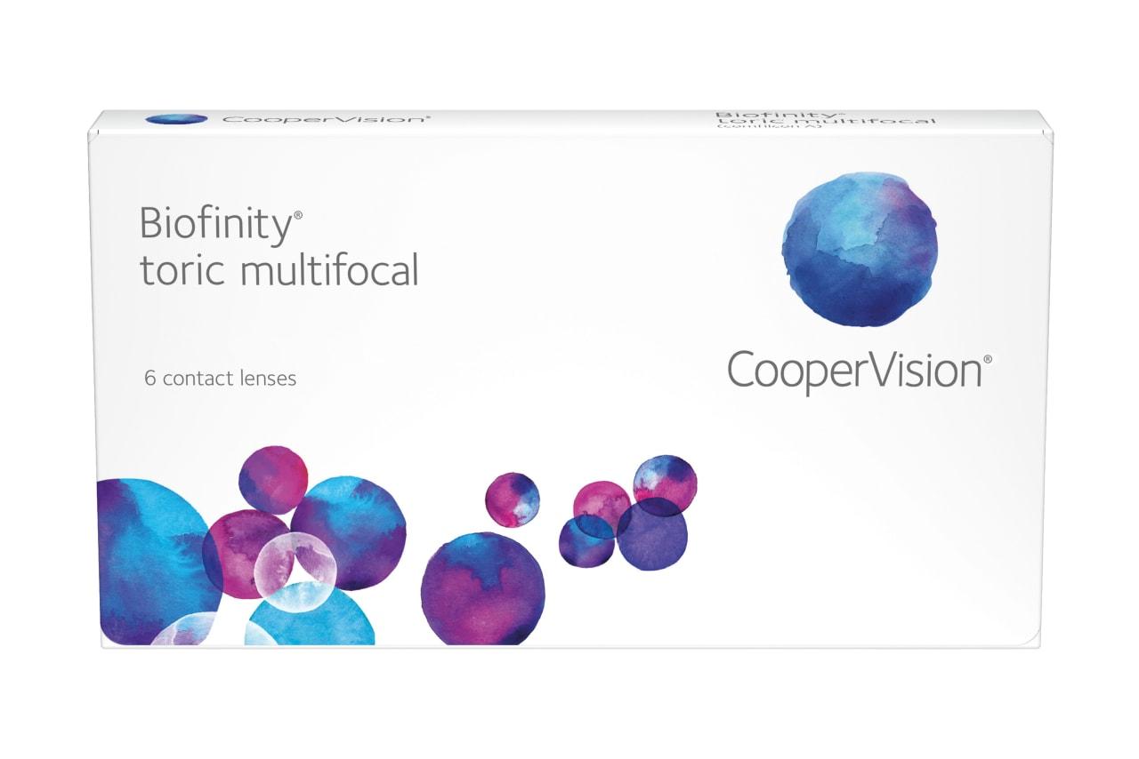 Biofinity® toric multifocal D-Typ 6