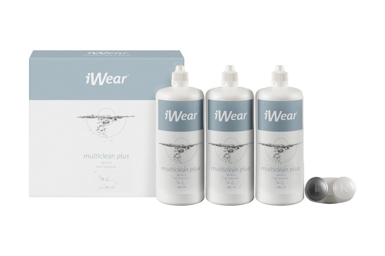 iWear® Multiclean Plus inkl. Hyaluron,