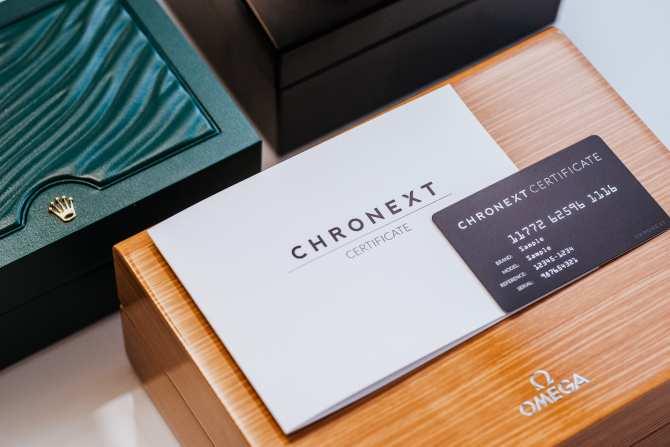 Das CHRONEXT-Zertifikat