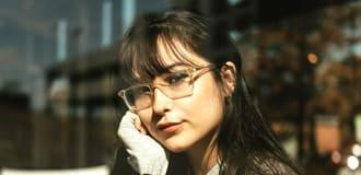 Schmale-Brillen