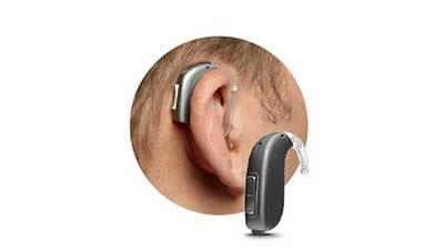 Hinter-dem-Ohr-Gerät