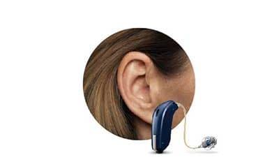 Hinter-dem-Ohr Gerät RIC