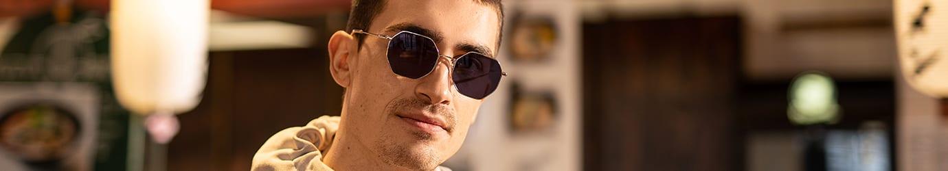 D-Sonnenbrillen-Geometrisch