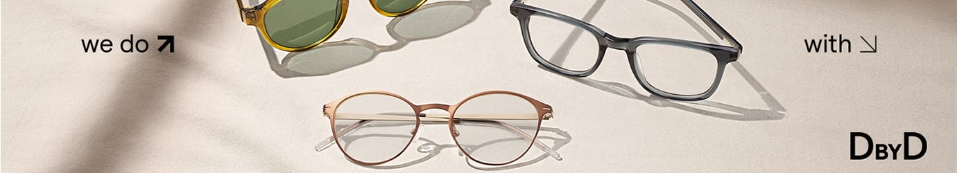 DbyD Brillen für Damen und Herren