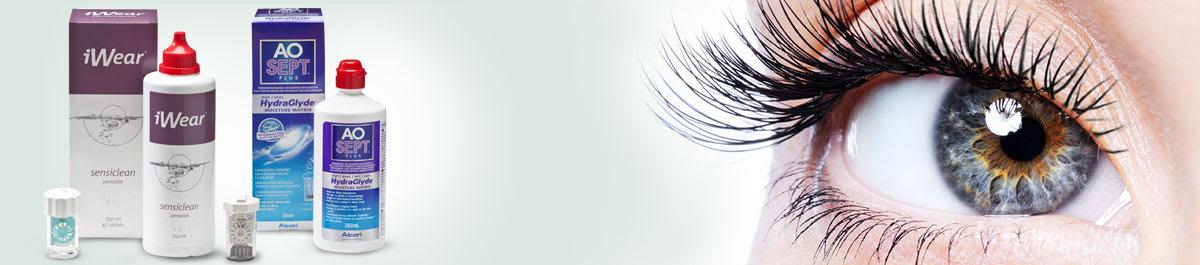Peroxidlösungen zur Kontaktlinsenpflege