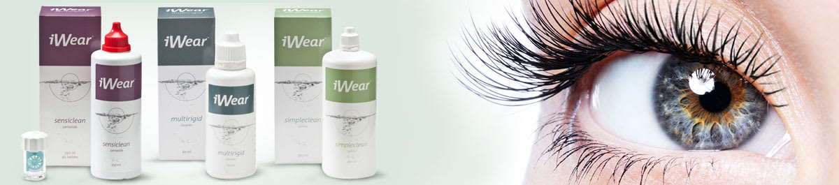 iWear Pflegemittel für Kontaktlinsen