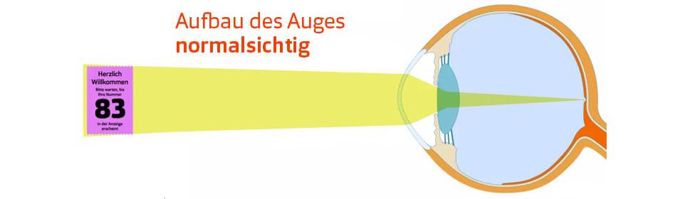 Astigmation - Aufbau des Auges