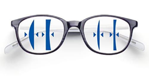 Extra dünne und leichte Brillengläser