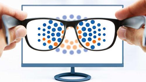 Brillengläser speziell für den Bildschirmarbeitsplatz