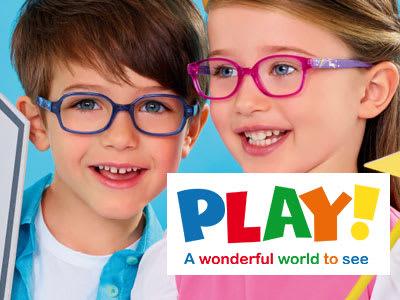 PLAY! Kinderbrillen