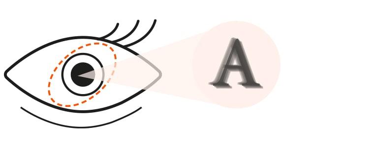 Icon-Auge-Lesen