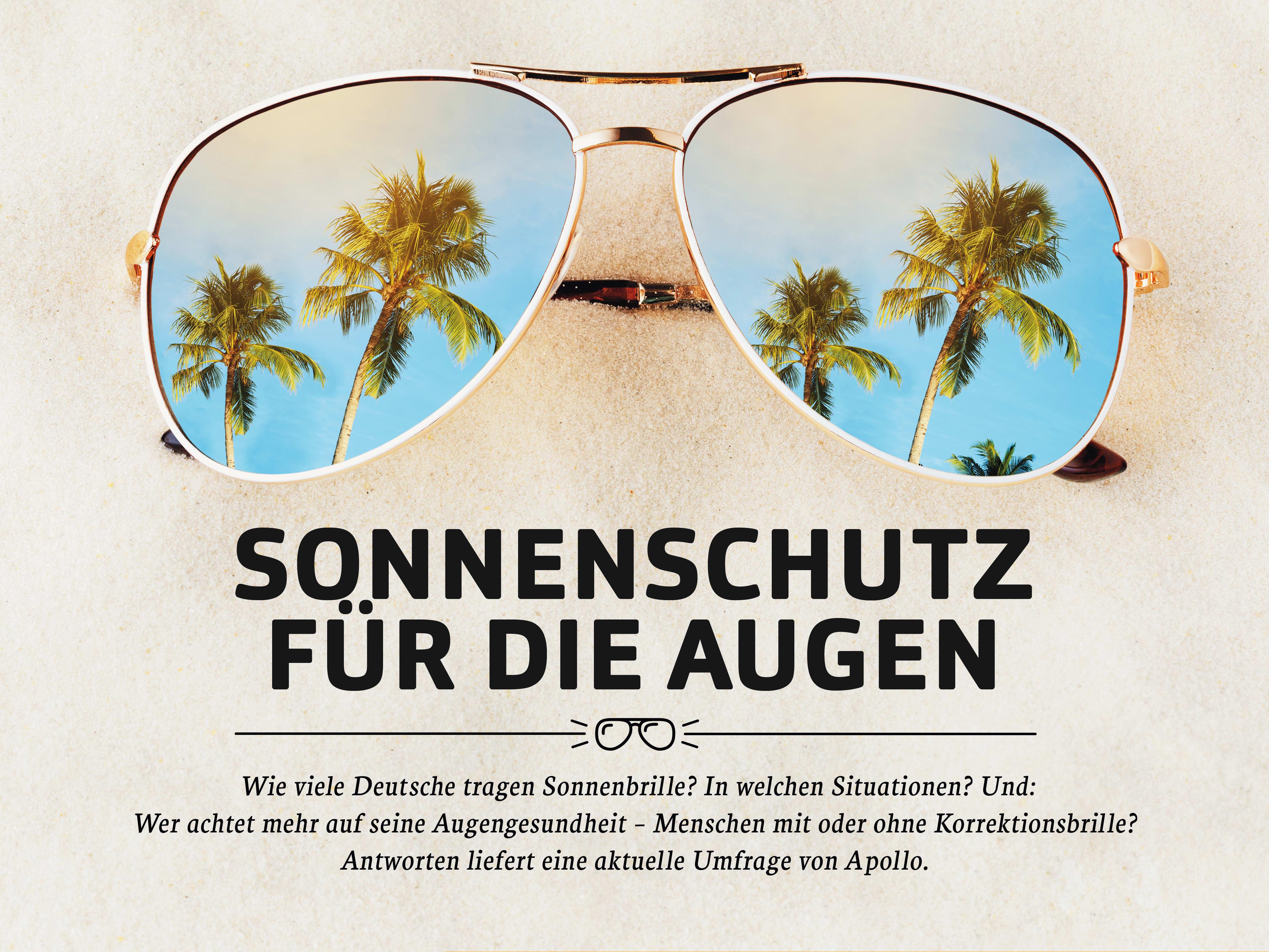 Apollo-Studie: Sonnenschutz für die Augen