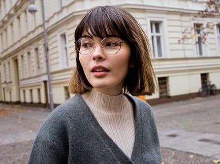 Geometrische-Brille-Trend