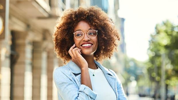 Brillengestelle für Locken