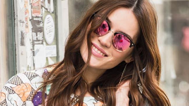 Verspiegelte Sonnenbrillen für Damen