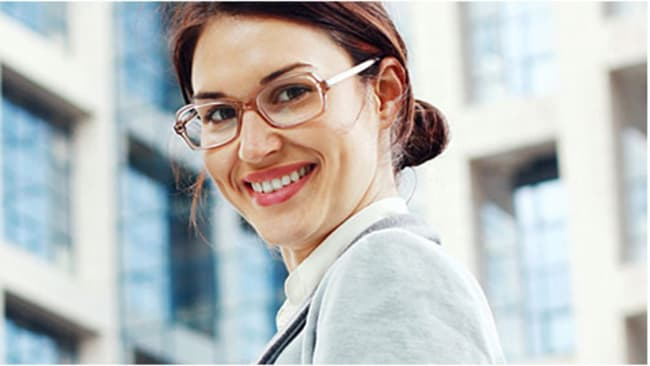 Damenbrillen im Business-Look