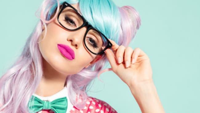 Damenbrillen für das Party-Outfit