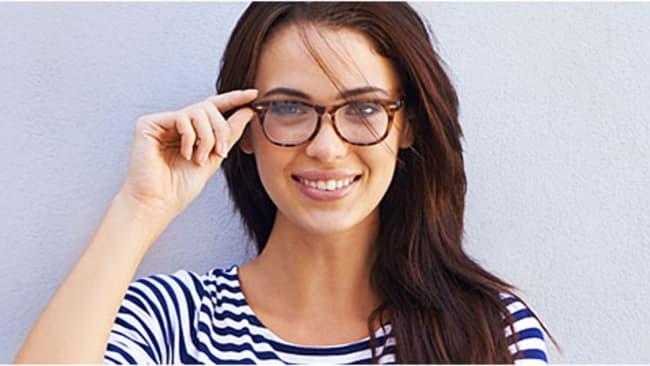 Sportliche Damenbrillen