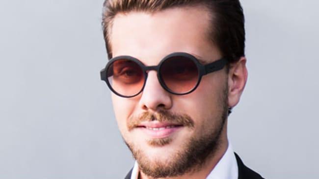 Runde Herren-Sonnenbrillen