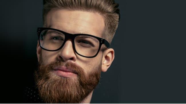 Brillen für Männer mit Vollbart