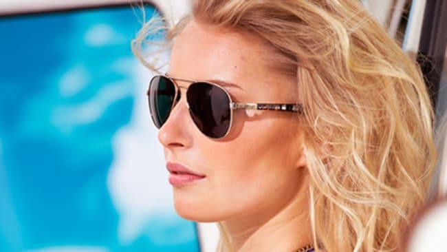 Damensonnenbrillen im Pilotenlook