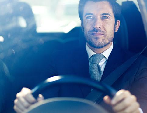 Schlechtes Sehen ist ein Risiko im Straßenverkehr