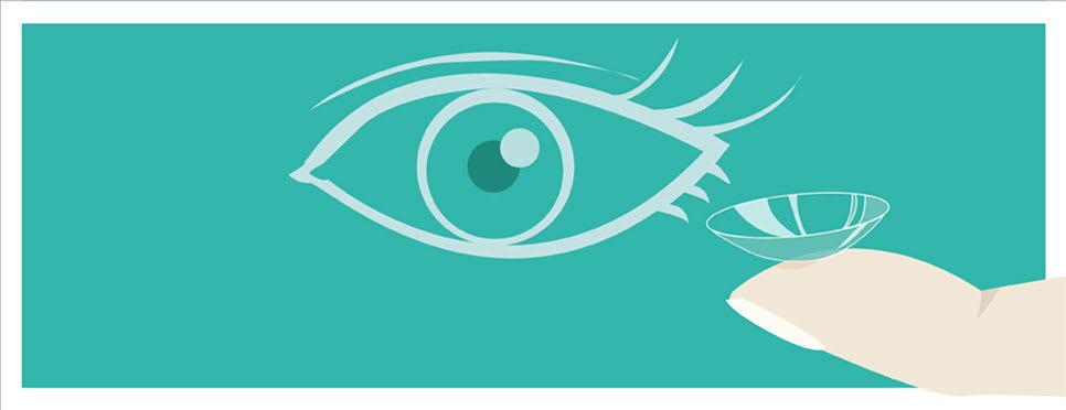 Infografik Kontaktlinsen